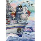 Набор для вышивания М.П.Студия НВ-686 «Море любви»