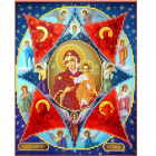 Рисунок для вышивания бисером Каролинка КБИ-4105 «Неопалимая купина»