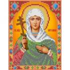 Рисунок для вышивания бисером Каролинка КБИ-5044  «Св.Антонина» А5