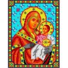 Рисунок для вышивания бисером Каролинка КБИ-5077 «Божья Матерь Вифлеемская» А5