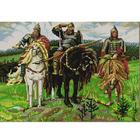 Рисунок на ткани «Конек 9765 Три богатыря» 29*39 см
