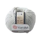 Пряжа Джинс (YarnArt Jeans), 50 г / 160 м, 49  светло-серый