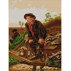 Рисунок на ткани «Конек 9866 Рыболов» 29*39 см