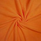 Трикотаж Флис 27064  (50*56 см) оранжевый