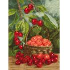 Набор для вышивания Золотое руно ФИ-012 «Садовая черешня» 27,5*20 см