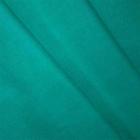 Ткань 50*50 см лен гл.краш. 30%лен, 70%хлопок  цв..39 изумрудный
