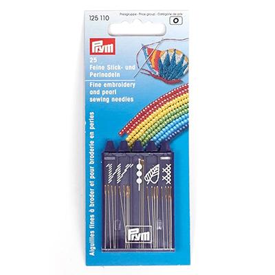 Иглы ручные PRYM 125110 для вышивания и бисероплетения в интернет-магазине Швейпрофи.рф