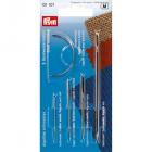 Иглы ручные PRYM 131107 ремонтные для кожи,парусины,ковров.мешковины,мебел.обивки