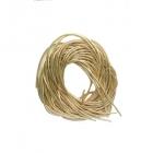 Проволока декоративная (канитель) д.1,0 мм (уп. 5 гр) гладкая  503700 светлое золото