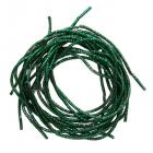Проволока декоративная (трунцал) д.1,5 мм ТК021НН1 т.зеленый (уп 5 гр)