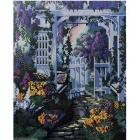 Алмазная мозаика Кристалл на дер.осн. GZ302 «В саду» 50*40 см
