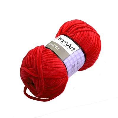 Пряжа Дольче (Dolce), 100 г / 120 м, 748 красный в интернет-магазине Швейпрофи.рф