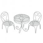 Декор MET-032 Металл мебельный гарнитур садовая миниатюра