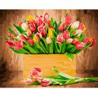 Набор для раскрашивания Фрея PNB/R1 №80 «Тюльпаны»
