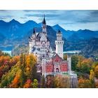 Набор для раскрашивания Фрея PNB/С1 №08 «Замок Нойшванштайн. Германия»