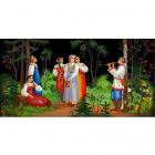 Рисунок на ткани «Конек 8476 Сбор ягод» 25*45 см