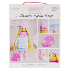 Набор текстильная игрушка АртУзор «Мягкая кукла Клэр» 508039 30 см