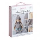 Набор текстильная игрушка АртУзор «Мягкая кукла Лика» 508837 30 см