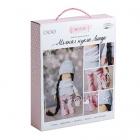 Набор текстильная игрушка АртУзор «Мягкая кукла Линда» 508836 30 см