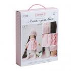 Набор текстильная игрушка АртУзор «Мягкая кукла Мика» 508843 30 см