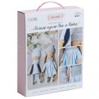 Набор текстильная игрушка АртУзор «Мягкая кукла Ник и Нати» 508839 30 см