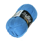 Пряжа Лайка, (Color City) 100 г / 300 м, 0308 т.-голубой