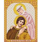 Рисунок для вышивания бисером Благовест  И-5053 Петр и Феврония  13,5*17 см