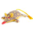 Набор для шитья Кукла Перловка из ткани П-102 «Мышка-Перлушка» игрушка-грелка 16 см лён  хлопок