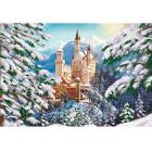 Рисунок для вышивания бисером Магия канвы КС-010 «Зимний замок» 27*38 см