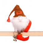 Набор для шитья Кукла Перловка из фетра ПФГ-1559 «Гном ключник» 14 см