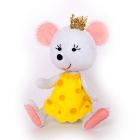 Набор для шитья Кукла Перловка из фетра ПФД-1068 «Принцесса -мышка» 11,5 см