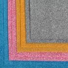 Фетр 1,4 мм глиттер FTL-GL1 (однотон.) 20*30 см ассорти (уп 8 листов)