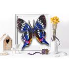 Набор для вышивания бисером Благовест 3D Б-008 «Бабочка Rhetus Dysonii» 13*14 см
