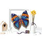 Набор для вышивания бисером Благовест 3D Б-013 «Бабочка Каллима» 12,5*13 см