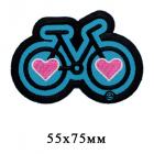 Термоаппликация HP 7724518 «Велосипед» 5,5*7,5 см