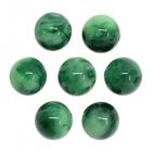 Бусины из смолы, имитация камня 11мм 551859 «Малахит» (уп 10 шт)