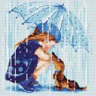 Алмазная мозаика Риолис АМ0023 «Дождик» 27*27 см