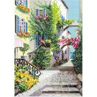 Алмазная мозаика Риолис АМ0025 «Итальянский дворик» 27*38 см