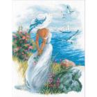 Набор для вышивания Риолис №1817 «Анжелика» 30*40 см