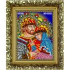 Набор для выш. Вышиваем Бисером R5 «Св. Петр и Феврония БМ» (с рамкой) 9,5*12,5 см