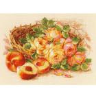 Набор для вышивания Риолис №1827 «Сочный персик» 30*40 см