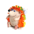 Набор для шитья Кукла Перловка из фетра ПФЗД-1005 «Счастливый ежик» 13*5 см