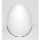 Заготовка для декора «Яйцо» пенопласт. h=12 см (уп. 5 шт.)