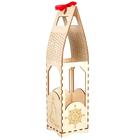 Заготовка для декора DZ20021 «Подарочная упаковка под бутылку» дереванная