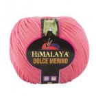 Пряжа Дольче Мерино (Himalaya Dolce Merino) 100 г/ 230 м 59401 коралловый