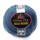 Пряжа Дольче Мерино (Himalaya Dolce Merino) 100 г/ 230 м 59405 джинсовый