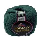Пряжа Дольче Мерино (Himalaya Dolce Merino) 100 г/ 230 м 59418 хаки