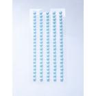 Полубусы клеевые  5 мм жемчуг 7704131 (уп. 84 шт.) 19z бирюзовый