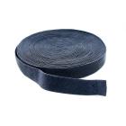Резинка 35 мм для подтяжек черн.уп.25 м 490127