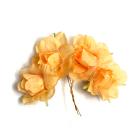 Декор MH1-249 цветы «Астра» 7715348 уп.4 шт F237 шампань